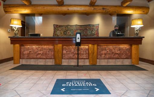 Banff Caribou Lodge Lobby